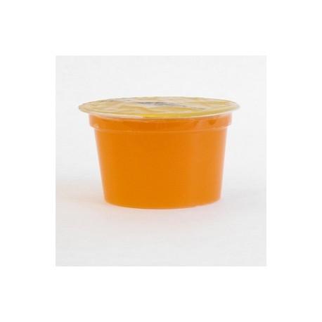 ORANGE (24 pots) édulcorée ferme eau gélifiée