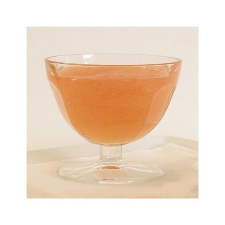 PECHE-ABRICOT (pour 5 x1l) édulcorée ferme eau gélifiée